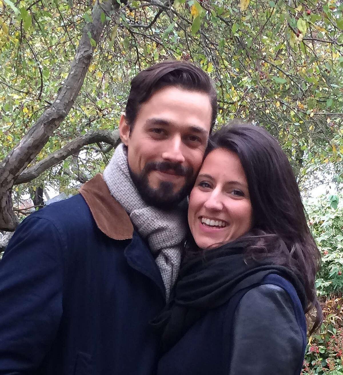 Kyle Engtrom and Graciela Monroy of Brooklyn. (Provided photo)