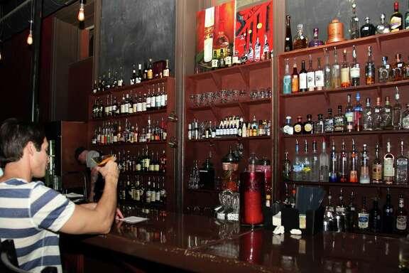 The Bar at SoHo Wine & Martini Bar.