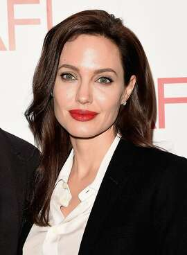 BEVERLY HILLS, CA - JANUARY 09:  Actress/director Angelina Jolie attends the 15th Annual AFI Awards at Four Seasons Hotel Los Angeles at Beverly Hills on January 9, 2015 in Beverly Hills, California.  (Photo by Jason Merritt/Getty Images)