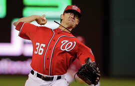 Relief pitcher Tyler Clippard posted a 2.18 ERA last season and will be a free agent after next season.