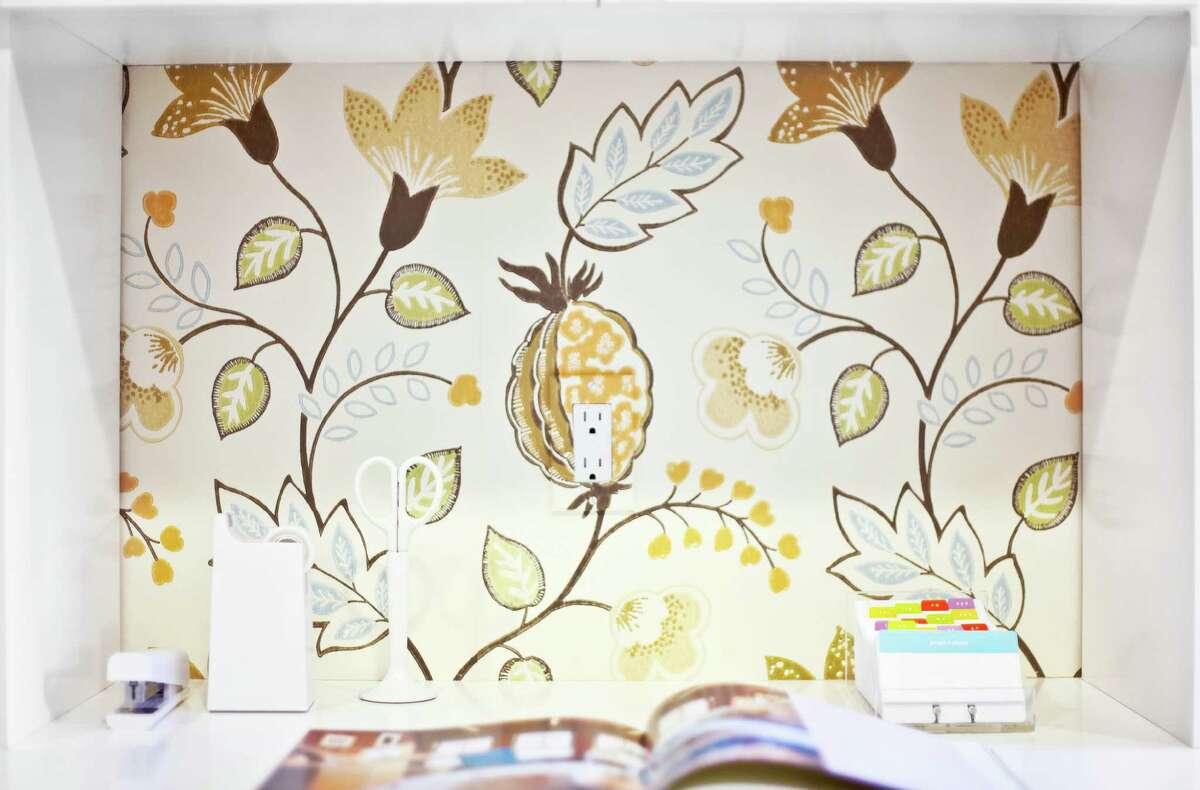 The wallpaper: