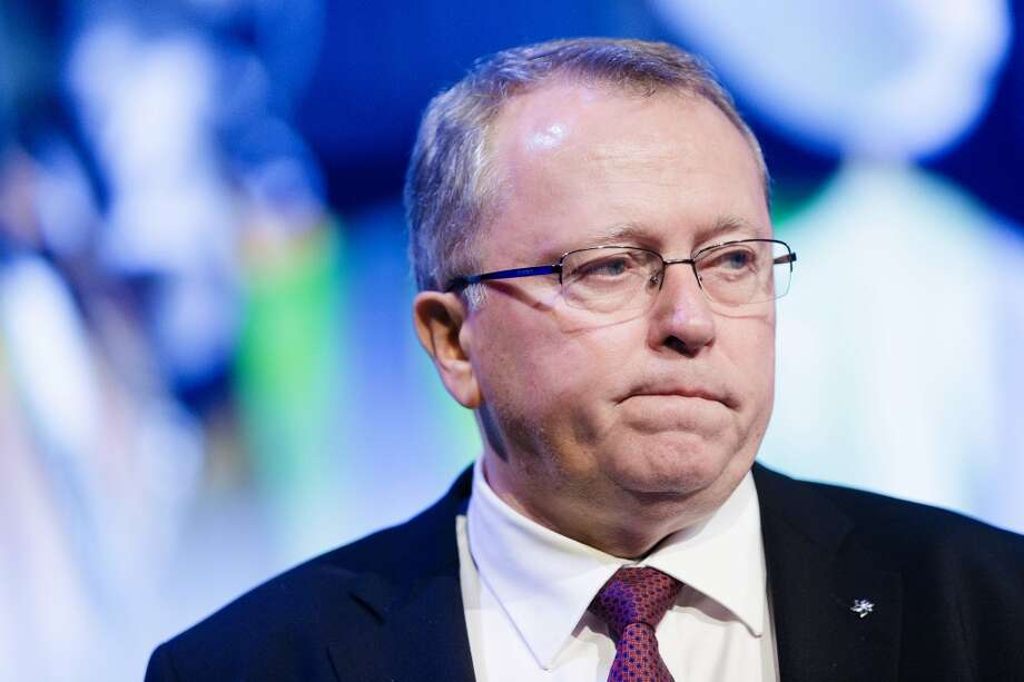 Statoil (Norway), abandoned oil and gas three exploration leases in GreenlandPictured: Statoil CEO Eldar Saetre Photo: Krister Soerboe, Bloomberg