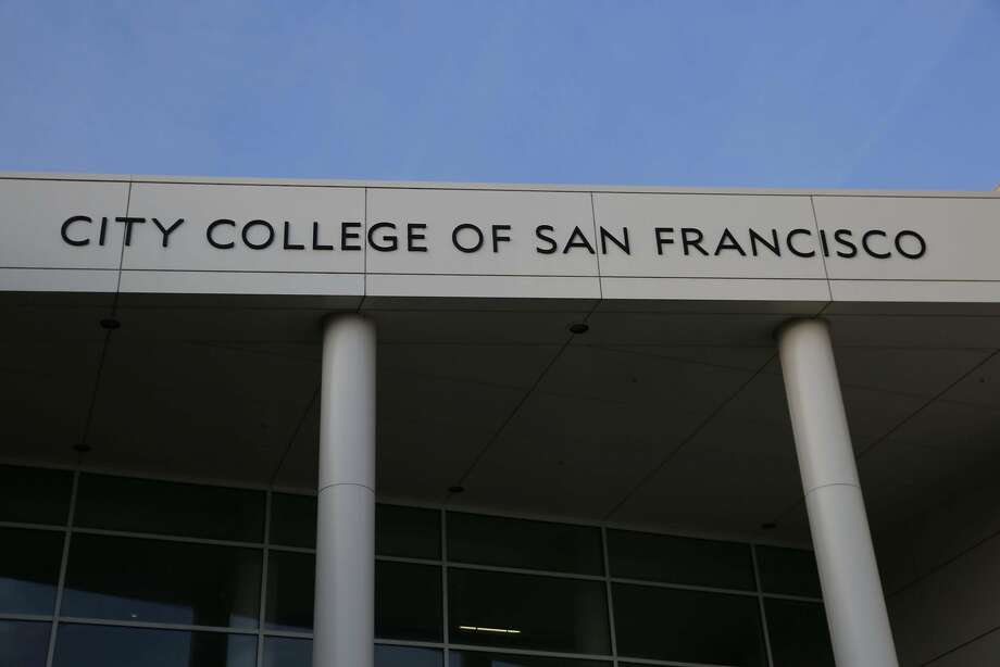 San Francisco voters were choosing one member of the seven-member City College of San Francisco board Tuesday. Photo: Mike Kepka, The Chronicle