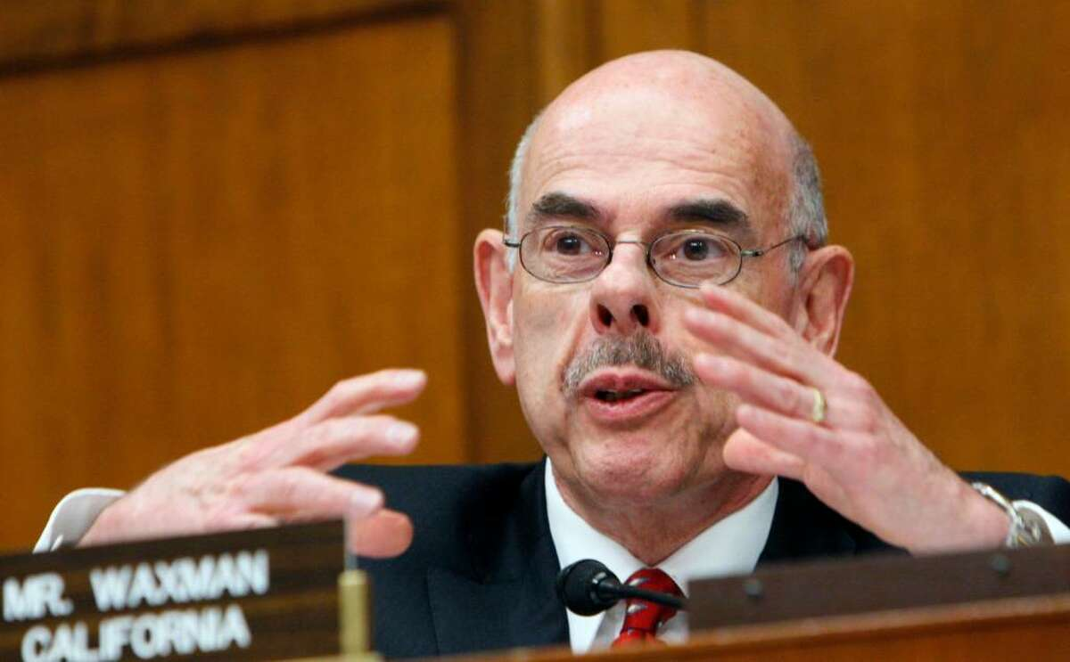 AP file photo of Rep. Henry Waxman, D-Cal., asks a question on Capitol Hill in Washington, Wednesday, Feb. 24, 2010,during the House Oversight and Investigations subcommittee hearing on