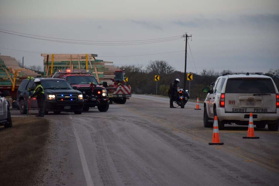 Bexar County Sheriff's officials closed Culebra Road after one person died during a crash between a semi-truck and car. Photo: By Mark D. Wilson/San Antonio Express-News