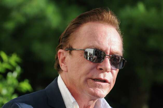 Celebrity David Cassidy talks about the status of his DWI plea at Town Court on Wednesday Sept. 3, 2014 in Schodack, N.Y.  (Michael P. Farrell/Times Union) ORG XMIT: MER2014090319564350 Photo: Michael P. Farrell / 00028445A