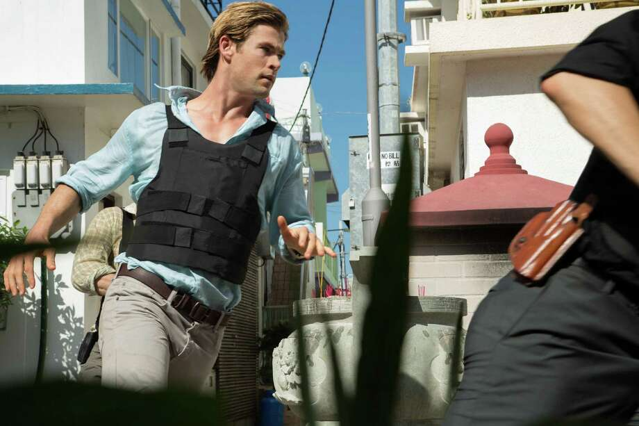 "Chris Hemsworth stars as genius hacker Nicholas in the flawed ""Blackhat."" Photo: Handout, HO / Universal Pictures"