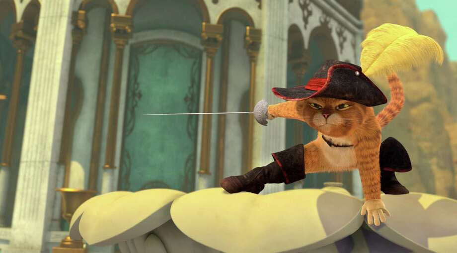 """Puss in Boots in """"The Adventures of Puss in Boots."""" Photo: Handout / Dreamworks / TNS"""