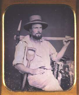 Photo reproductions of Thomas Drew's daguerreotype frequently appear in grade-school history textbooks, but all we know for sure is that he was a miner.