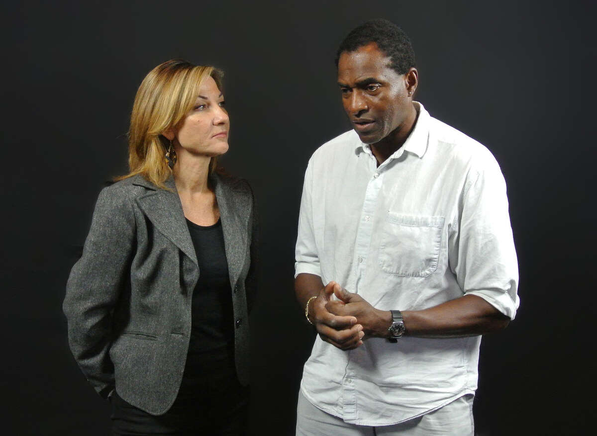 Susi Damilano (left) and Carl Lumbly star in Julie Hébert's