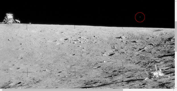 Were aliens watching Apollo 12 astronauts on the moon ...