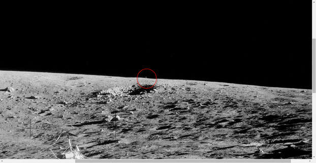 astronauts find structures on moon - photo #13