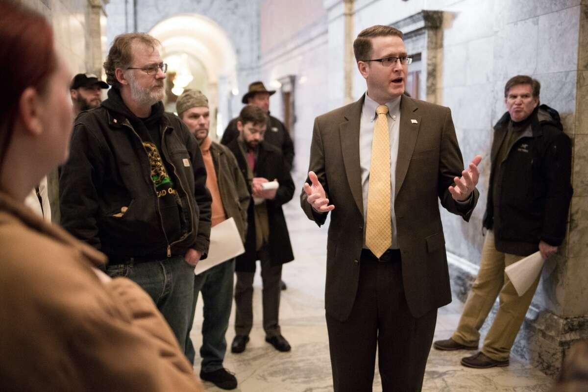 State Rep. Matt Shea, R-Spokane Valley:  He has aided in an act of
