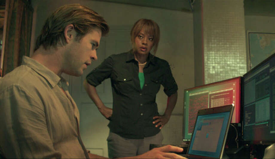 "Universal Pictures Chris Hemsworth and Viola Davis star in ""Blackhat."" The thriller opens Friday."