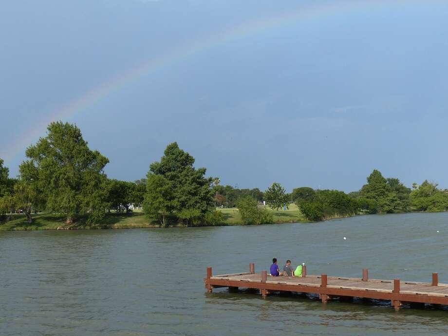 Woodlawn Lake Then And Now San Antonio Express News