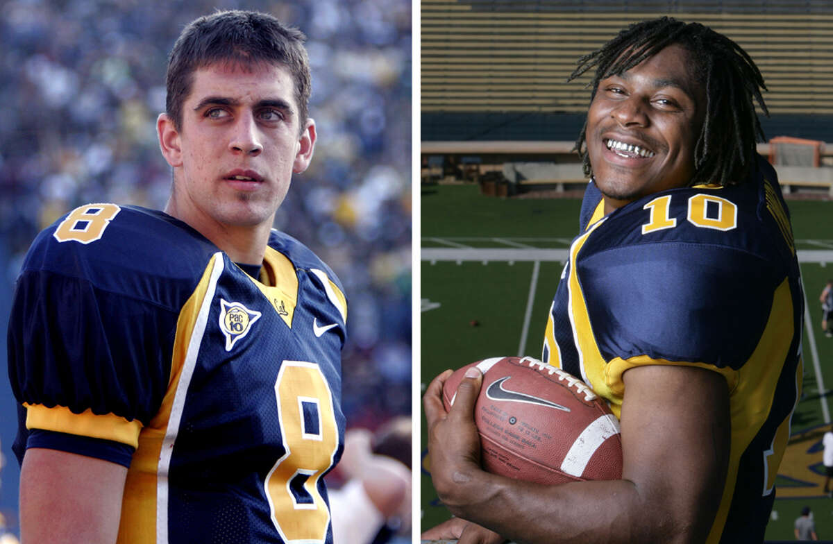 January's NFC playoff game was a college reunion for Packers quarterback Aaron Rodgers and Seahawks running back Marshawn Lynch. The two played together at Cal back in 2004 before becoming huge stars in the NFL since.