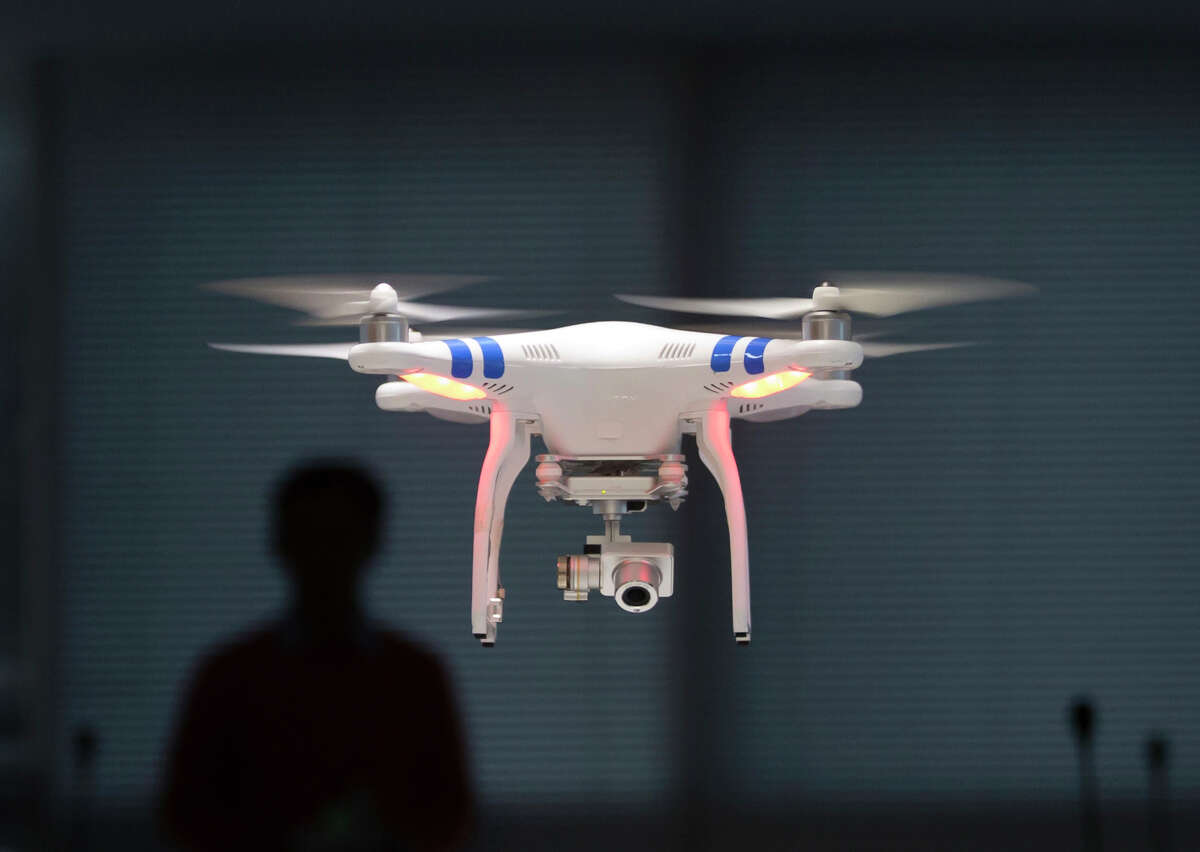 A San Francisco Recreation and Park Department drone, similar to this one and worth nearly $3,000, was stolen out of an employee's car on Thursday.