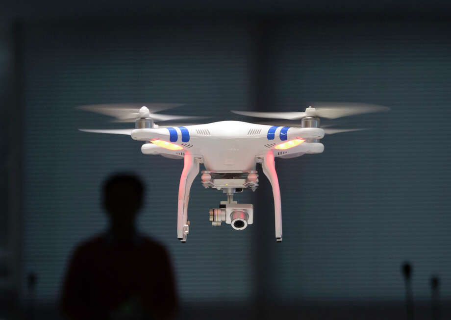 A San Francisco Recreation and Park Department drone, similar to this one and worth nearly $3,000, was stolen out of an employee's car on Thursday. Photo: Kin Cheung / Associated Press / AP
