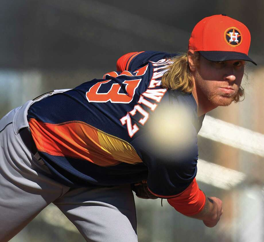 Mike Foltynewicz is headed to Atlanta after being one of the most watched pitching prospects in the Astros' system since he was a first-round pick in 2010. Photo: Karen Warren, Staff / © 2013 Houston Chronicle