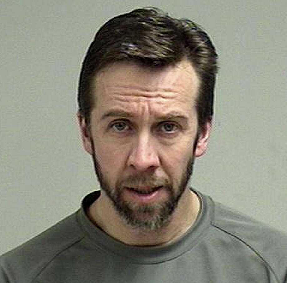 Theron Kissinger, 44, of Southbury, a teacher at Staples High School, was charged with having sex with a female student that he was tutoring. Photo: Westport Police Department / Westport News