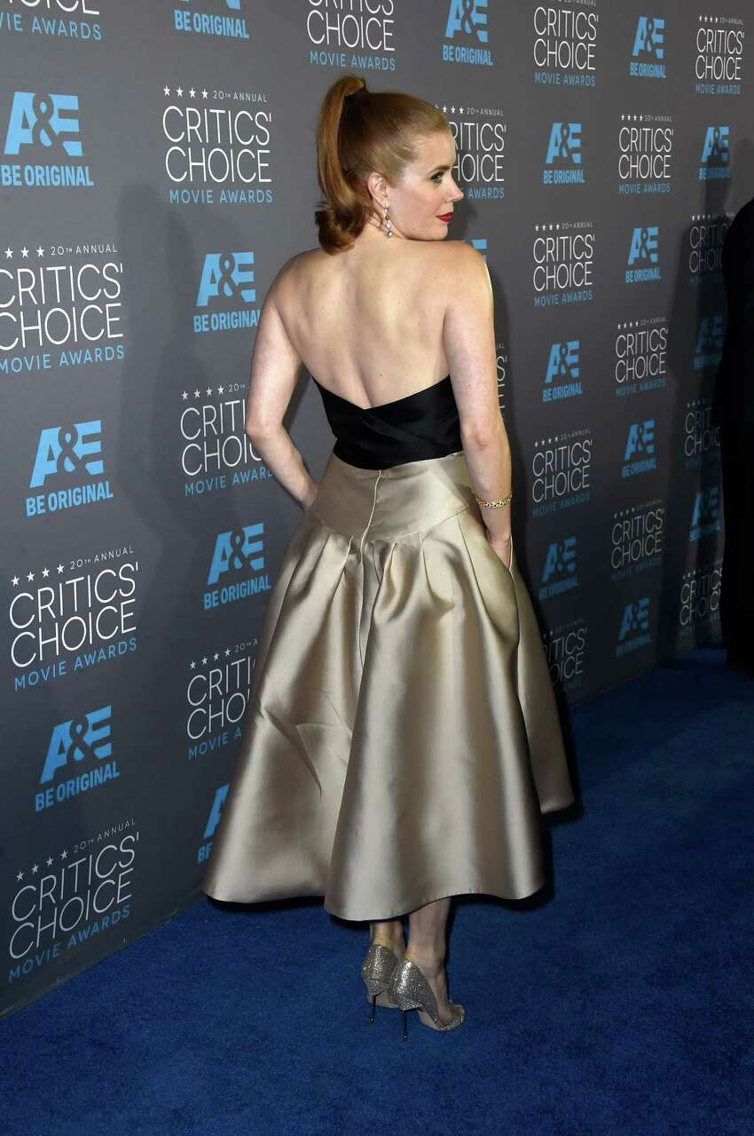 LOS ANGELES, CA - JANUARY 15: Actress Amy Adams attends the 20th annual Critics' Choice Movie Awards at the Hollywood Palladium on January 15, 2015 in Los Angeles, California.