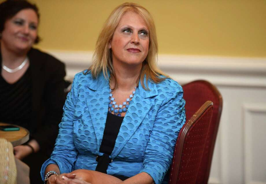 Auden Grogins' candidacy for a Superior Court judgeship has turned into a lightning rod on the controversial issue of gun rights, with a National Rifle Association-backed effort to have her nomination rejected. Grogins is a former state representative from Bridgeport. Photo: Autumn Driscoll / Connecticut Post