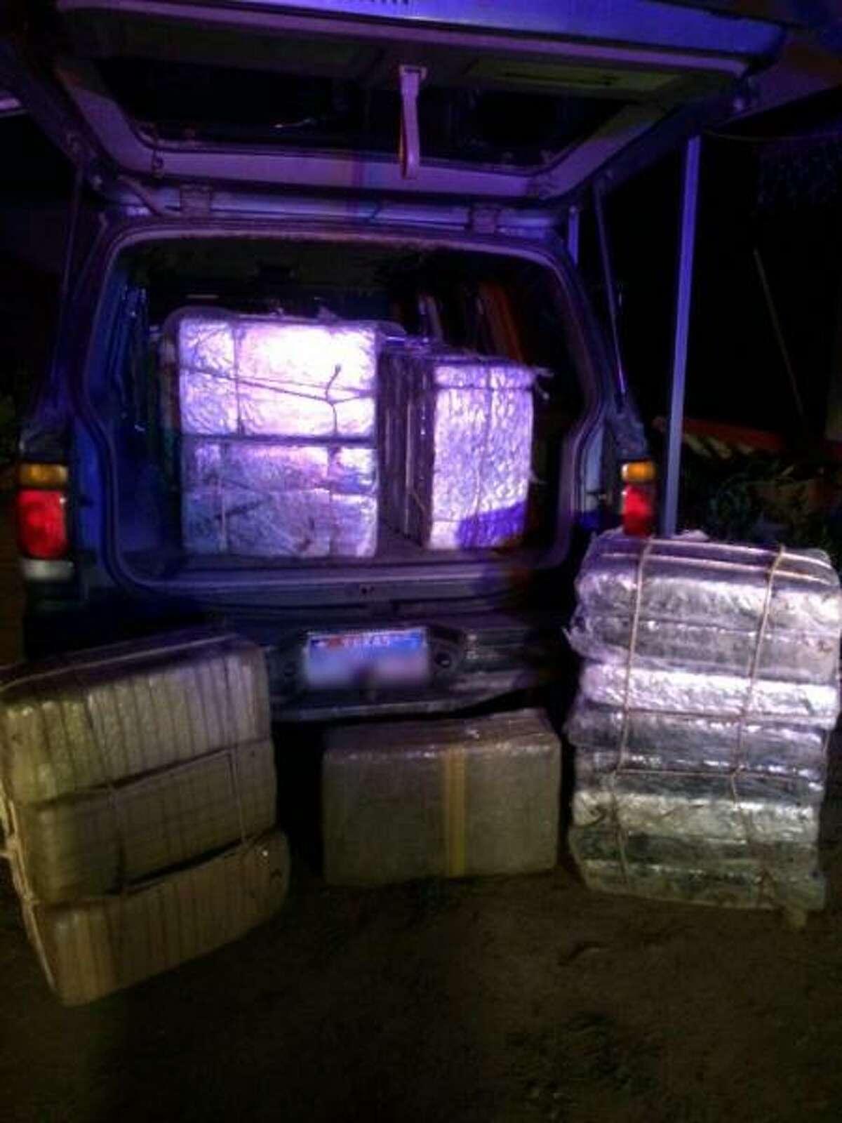 Drug: Marijuana Amount: 630 pounds Estimated value: $504,000 Date: Jan. 2, 2015 Location: Escobares Details: Agents found the marijuana bundled in 28 bricks in an abandoned 1999 Ford Explorer.