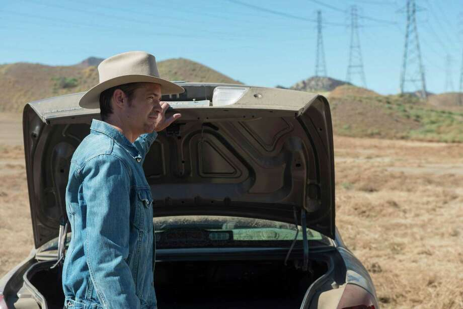 "'Justified,' Season 6, Episode 1 stars Timothy Olyphant as Deputy U.S. Marshal Raylan Givens. Premiere: January 20, 2015 on FX.   JUSTIFIED -- ""Fate's Right Hand"" -- Episode 601 (Airs Tuesday, January 20, 10:00 pm e/p) -- Pictured: Timothy Olyphant as Deputy U.S. Marshal Raylan Givens -- CR: Prashant Gupta/FX Photo: Prashant Gupta/FX / FX / Copyright 2014, FX Networks. All rights reserved."