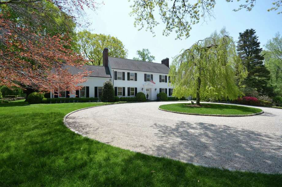 The property at 79 Ferris Hill Road is on the market for $4,995,000. Photo: Contributed Photo / New Canaan News