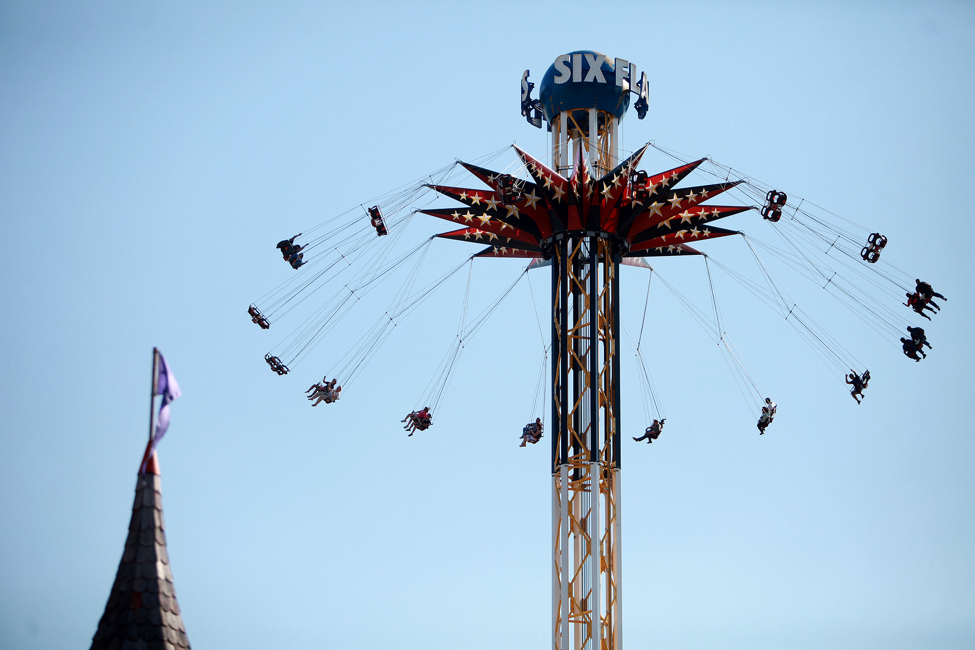 North Side Ford >> Power outage stalls two Six Flags Fiesta Texas rides ...