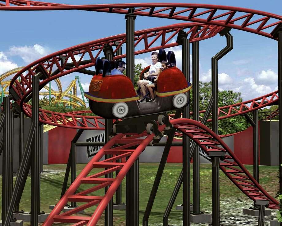 Rides At Six Flags Fiesta Texas San Antonio Express News