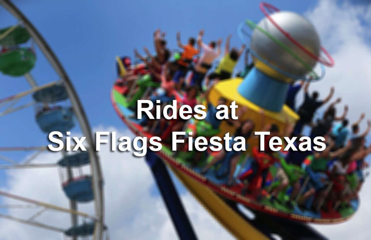 Here are just some of the dozens of rides and attractions at the San Antonio theme park.