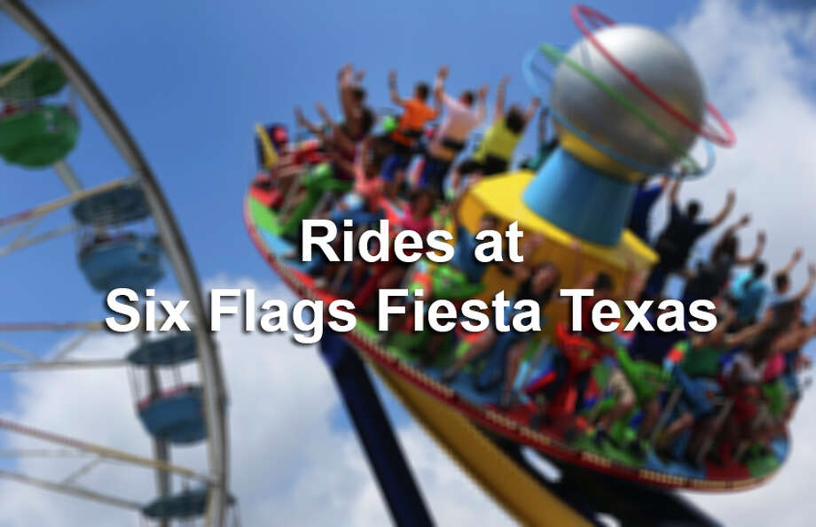 Here are just some of the dozens of rides and attractions at the San Antonio theme park. Photo: San Antonio Express-News / John Davenport (210) 889-3113