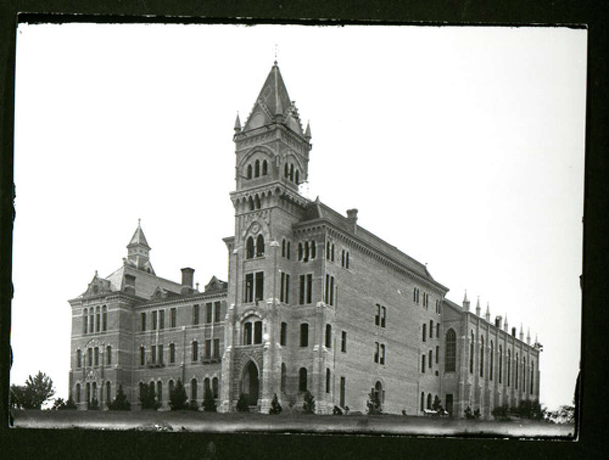 This 1894 photo shows the iconic Main Building at the University of Texas.