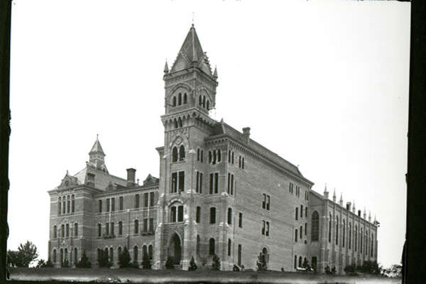Photos of the University of Texas at Austin dating to 1894 show what the campus looked like before it became the iconic, popular university it is now. Before the tailgating parties, the Red River Rivalry and The Drag, UT was simply a campus in the middle of brush country.