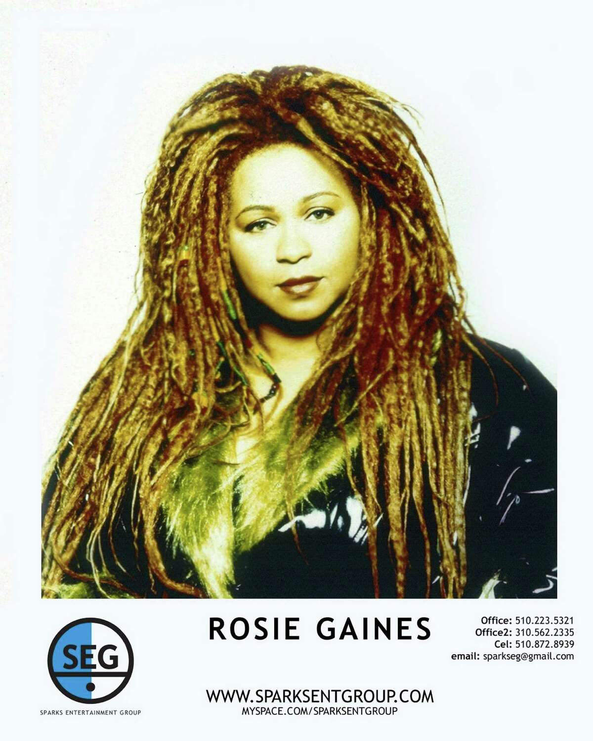 Rosie Gaines, who rose to prominence with Prince's band in the 1990s, has fallen on hard times.