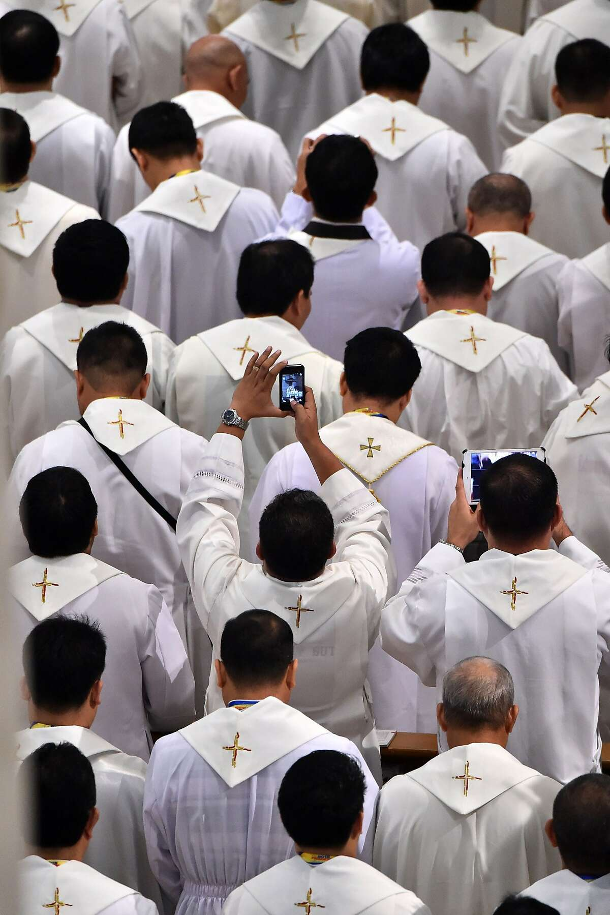 Francis said last year that celibacy for priests