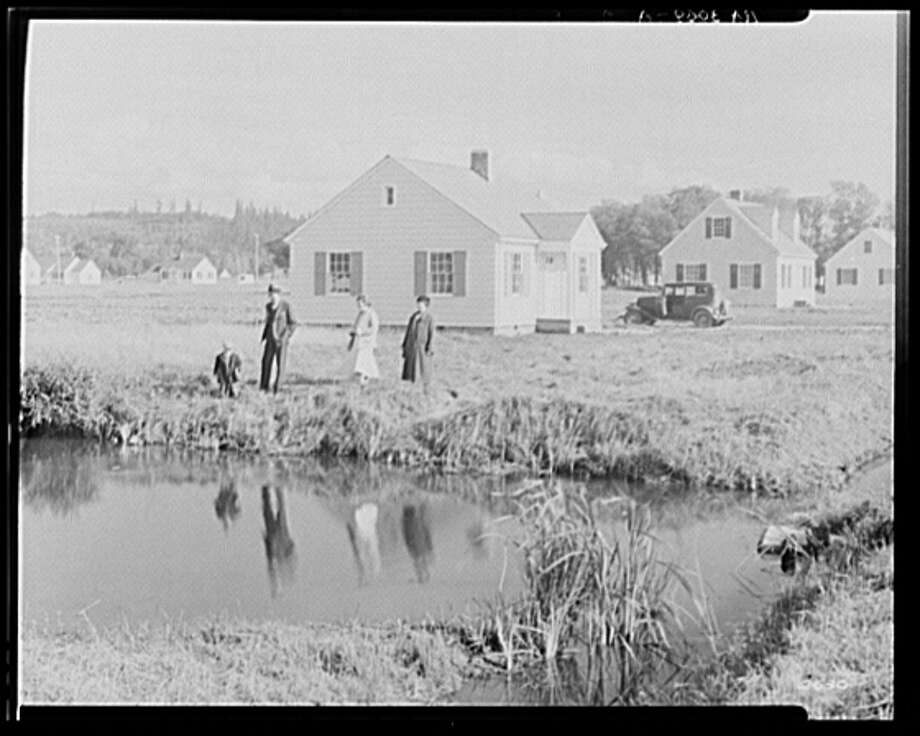 View of Longview Homesteads,September 1935. Photo: Arthur Rothstein