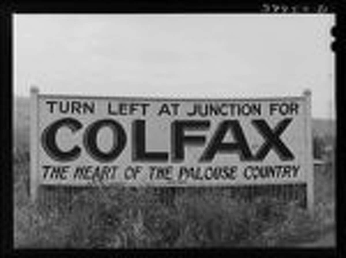 Colfax marks the end of S.R. 26, the 133-mile drive from Vantage that takes students, visitors and fans to Washington State University. It is a famous speed trap.