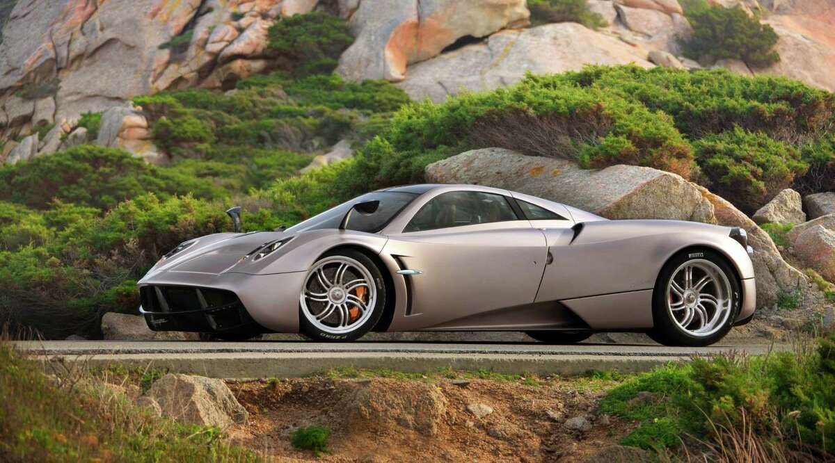 Visitors to the DFW Auto Show this week got a close-up view of the $1.6 million Pagani Huayra.
