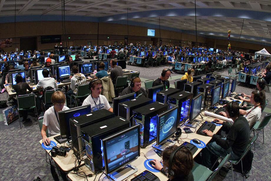 The PAX gaming festival expands in 2015 with the debut of PAX South in San Antonio, Jan. 23-25 at the Convention Center. The show covers all facets of gaming, from consoles and PCs to handhelds and tabletop gaming. Photo: Penny Arcade / Penny Arcade