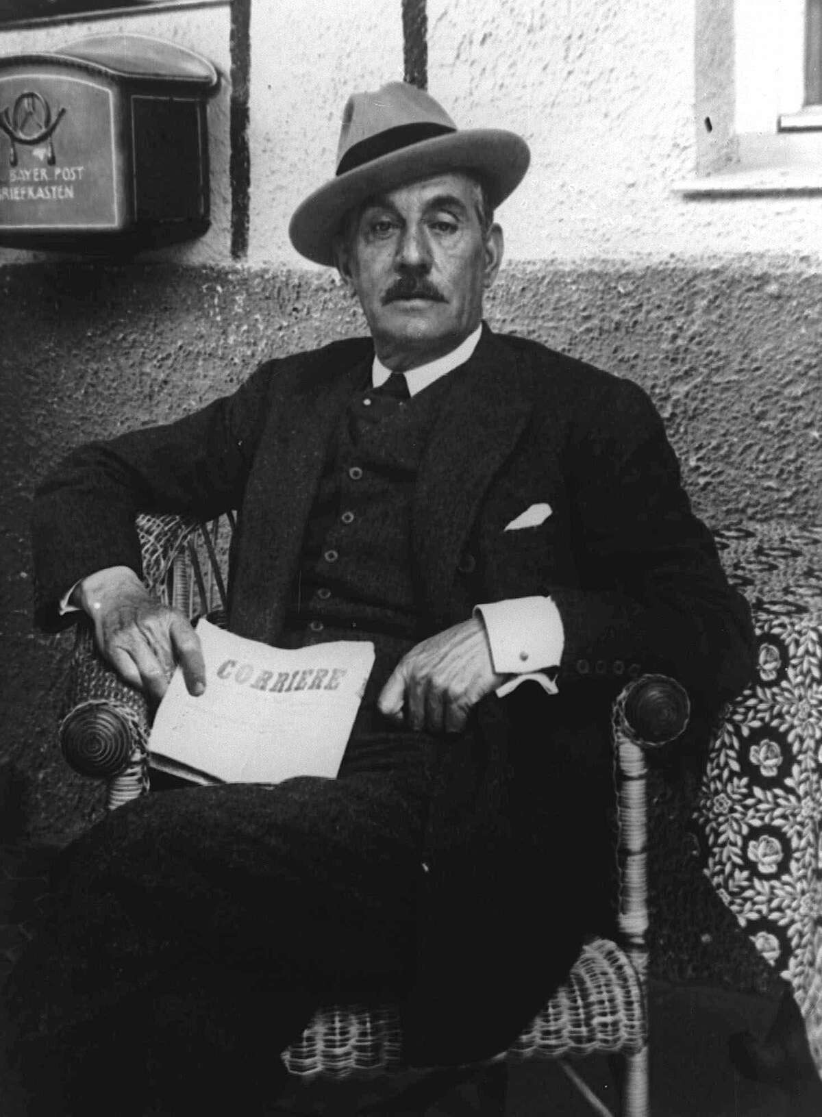 In 1924, Italian composer Giacomo Puccini died in Brussels before he could complete his opera