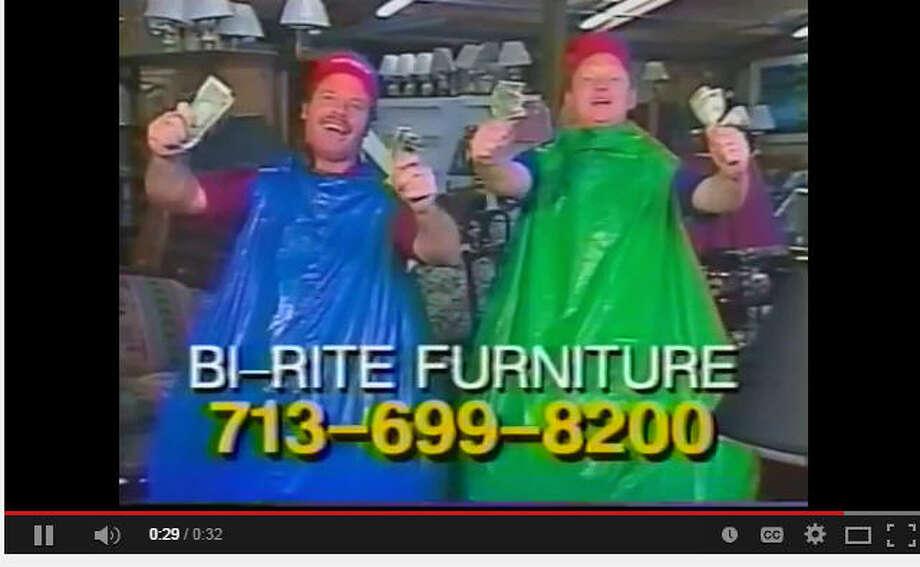 Houston business promotion gimmicks houston chronicle for Bi rite furniture living room sets