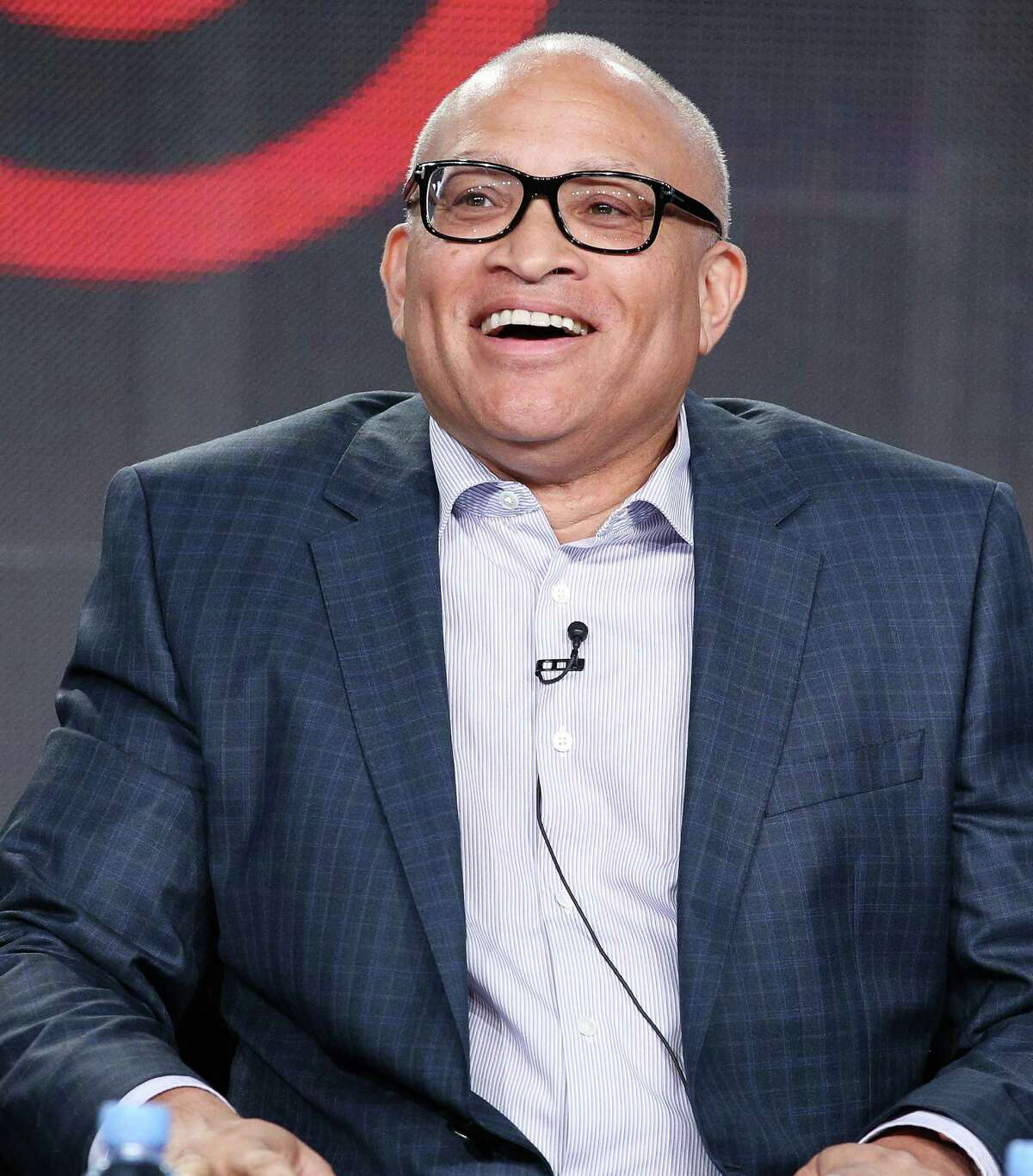 PASADENA, CA - JANUARY 10: Host Larry Wilmore speaks onstage during the Viacom Winter Television Critics Association (TCA) press tour at The Langham Huntington Hotel and Spa on January 10, 2015 in Pasadena, California. (Photo by Imeh Akpanudosen/Getty Images for Viacom)