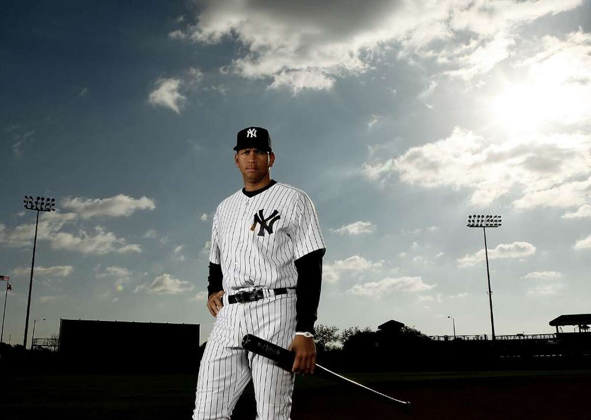 TAMPA, FL - FEBRUARY 25: (EDITOR'S NOTE: IMAGE HAS BEEN DIGITALLY DESATURATED) Alex Rodriguez #13 of the New York Yankees poses for a photo during Spring Training Media Photo Day at George M. Steinbrenner Field on February 25, 2010 in Tampa, Florida. (Photo by Nick Laham/Getty Images) *** Local Caption *** Alex Rodriguez