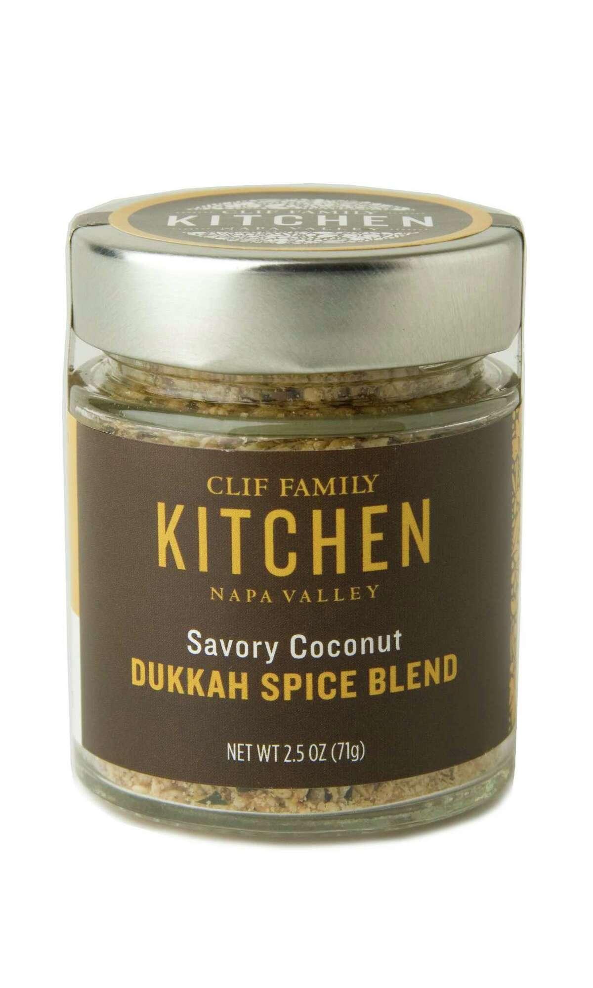 Clif Family Kitchen's Savory Coconut Dukkah Spice Blend.