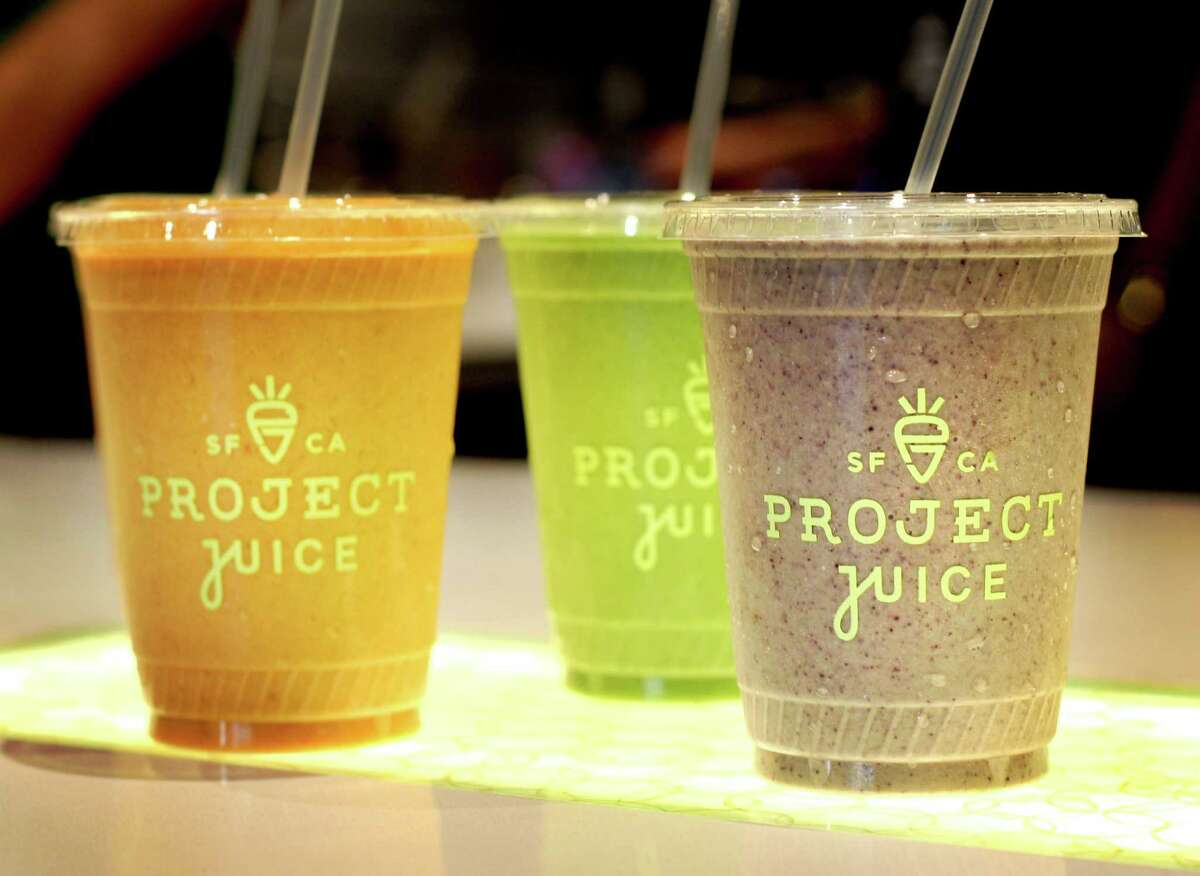 Project Juice offers smoothies varying from savory to sweet.
