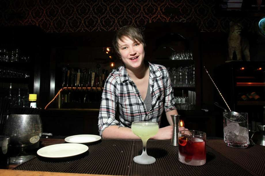 Karah Carmack of San Antonio's Hot Joy advises customers to be specific about likes and dislikes with bartenders, or they'll never know what drink might please you. Photo: Express-News File Photo / SAN ANTONIO EXPRESS-NEWS
