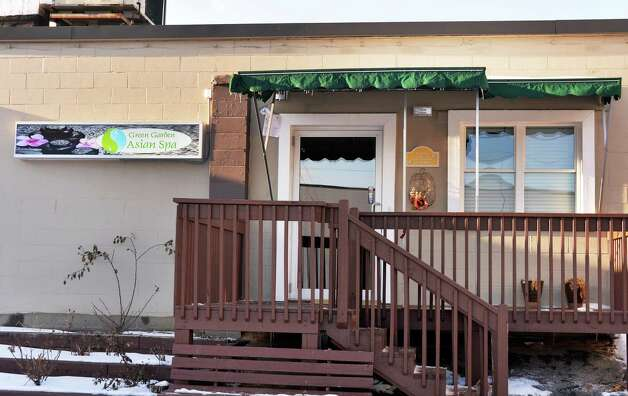 Green Garden Asian Spa on Central Avenue Friday Jan. 16, 2015, in Colonie, NY.  (John Carl D'Annibale / Times Union) Photo: John Carl D'Annibale / 00030248B