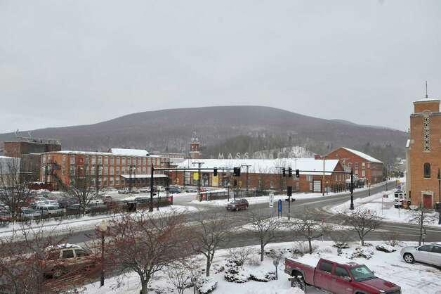 A view of the Mass MoCA complex on Wednesday, Jan. 14, 2015, in North Adams, Mass.  (Paul Buckowski / Times Union) Photo: Paul Buckowski / 00030194A